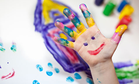 an exercise mindful painting mindful learning and living - Painting Pics For Kids